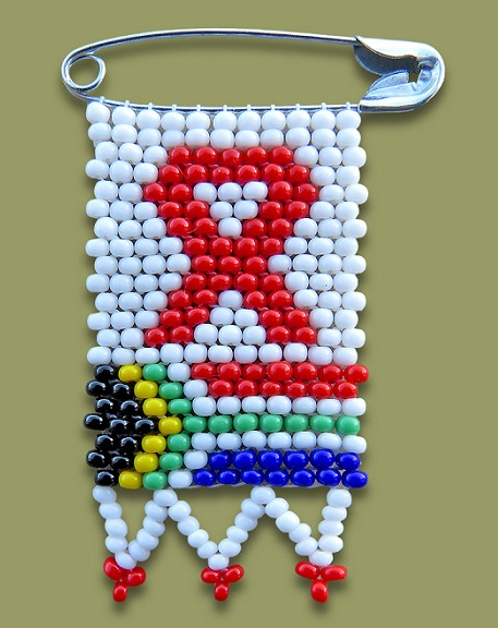 Beaded Aids SA Flag