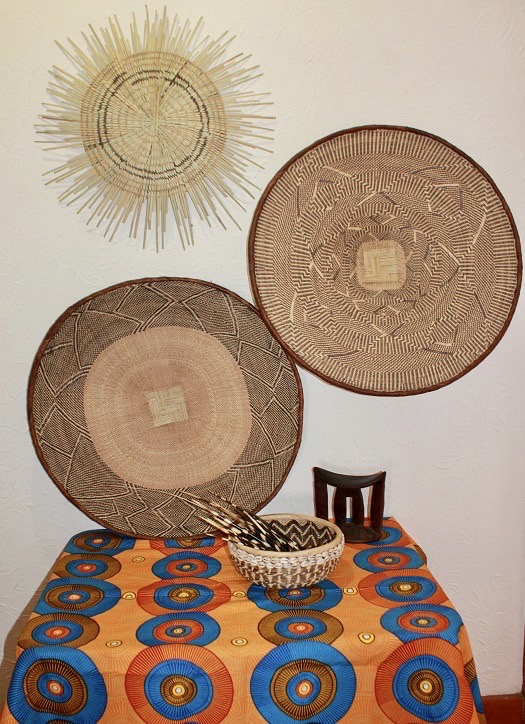 African Wax Fabric Table Cloth 200x100