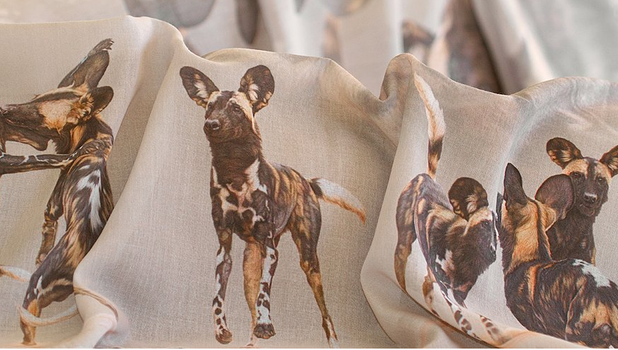 Scarf African Wild Dogs