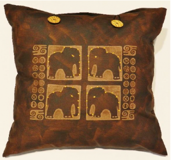 Four Elephants Brown