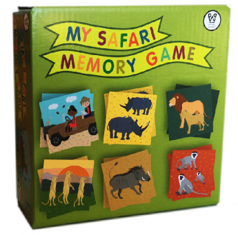 My-Safari-Memory-Game