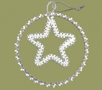 african-beaded-christmas-circle-star-silver-white5