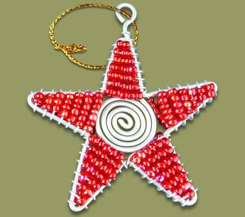 african-beaded-christmas-star-red