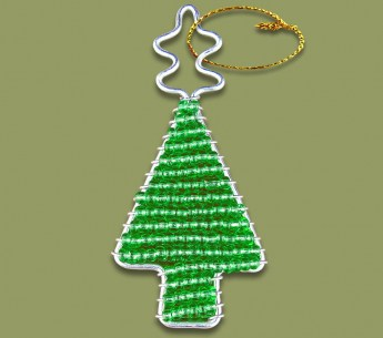 african-beaded-christmas-tree-1-green
