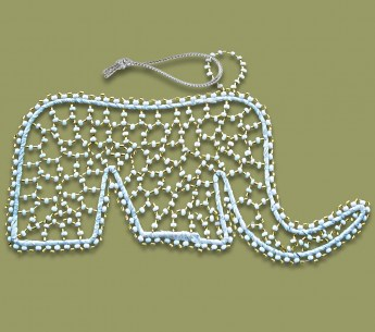 african-christmas-decorations-beaded-elephant5