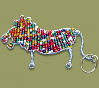 beaded-key-ring-lion3