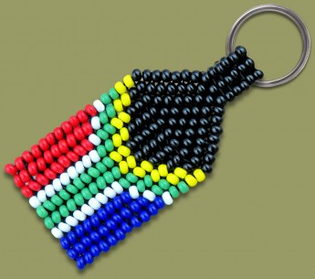 beaded-sa-flag-keyring-1